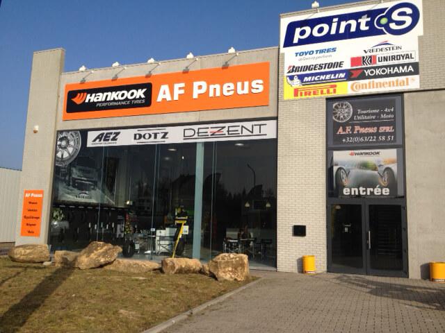 Le centre Point S à Messancy: A.F.PNEUS SPRL
