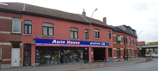Le centre Point S à Vilvoorde: ALSO SPRL-AUTO HOUSE