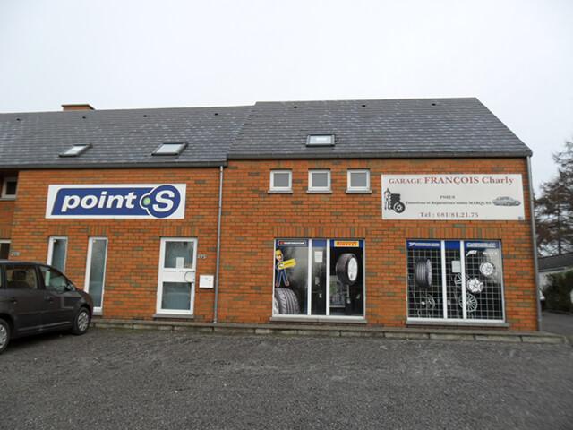 Le centre Point S à Eghezee: FRANCOIS CHARLY