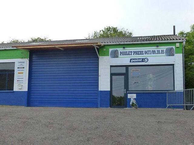 Le centre Point S à Gesves: PAULET PNEUS - AUTOCREW