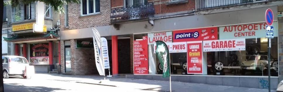 Le centre Point S à Laeken: READY PNEUS EXPO - KARFAT SPRL
