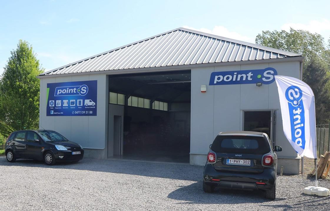 Le centre Point S à Braine-l'alleud: MOBILPNEU SPRL