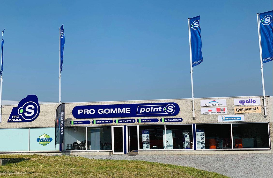 Le centre Point S à Stavelot: PRO GOMME SPRL