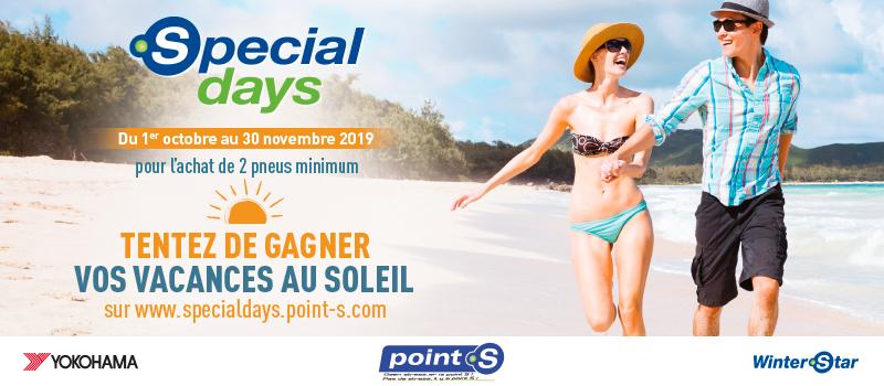Bannière special days